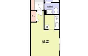 福岡市中央区 - 大宮 大厦式公寓 1R
