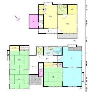 松本市中川-(整棟)樓房{building type} 房間格局