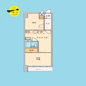 1SDK {building type} in Minamidai - Nakano-ku Floorplan