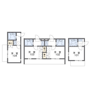 1R Apartment in Nogata - Nakano-ku Floorplan