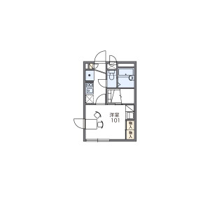 1K Mansion in Minamishinagawa - Shinagawa-ku Floorplan