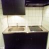 在澀谷區內租賃1R 公寓大廈 的房產 廚房