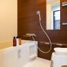 1R Serviced Apartment to Rent in Fukuoka-shi Hakata-ku Bathroom