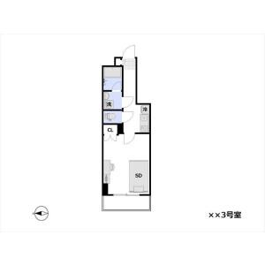 1K Apartment in Machiya - Arakawa-ku Floorplan