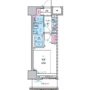 台東區千束-1K公寓大廈 房間格局
