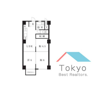 3LDK Mansion in Umezato - Suginami-ku Floorplan