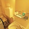 1DK Apartment to Rent in Kita-ku Bathroom