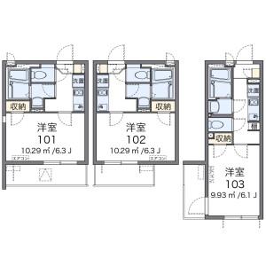 1K Mansion in Nishirokugo - Ota-ku Floorplan