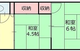 2K Apartment in Rokugatsu - Adachi-ku