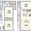 3LDK House to Rent in Nerima-ku Floorplan