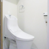 1LDK Apartment to Buy in Minato-ku Toilet