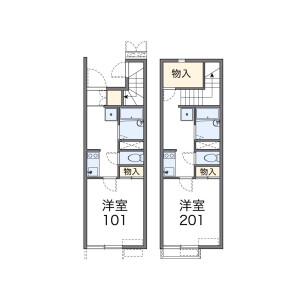 1K Apartment in Nodera - Niiza-shi Floorplan