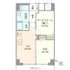 在大田區購買2DK 公寓大廈的房產 房間格局