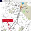 2LDK Apartment to Buy in Yokohama-shi Kohoku-ku Access Map