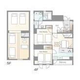 3LDK Mansion in Negishi - Taito-ku Floorplan