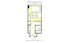 1R Mansion in Kurosuna - Chiba-shi Inage-ku