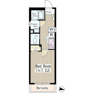 1K Mansion in Narihira - Sumida-ku Floorplan