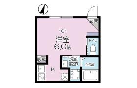 葛飾區南水元-1R公寓