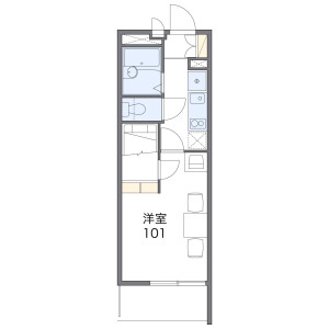 1K Mansion in Fukuzumicho - Nagoya-shi Nakagawa-ku Floorplan