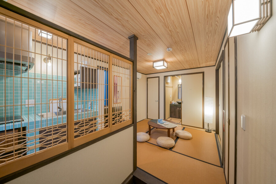 1DK House to Rent in Taito-ku Living Room
