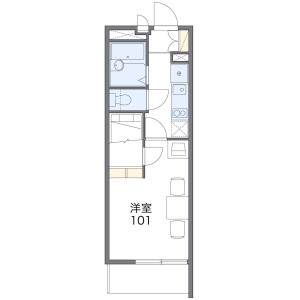 1K Apartment in Ikegamishincho - Kawasaki-shi Kawasaki-ku Floorplan