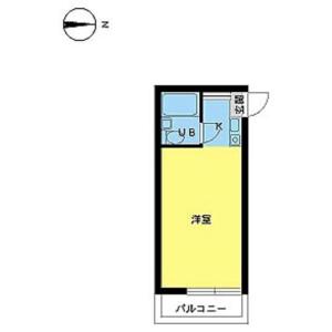 1R Mansion in Kitashinjuku - Shinjuku-ku Floorplan