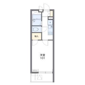 1K Mansion in Shakujiidai - Nerima-ku Floorplan