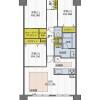 3LDK Apartment to Buy in Osaka-shi Chuo-ku Floorplan