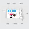 2LDK Apartment to Rent in Sapporo-shi Kita-ku Floorplan