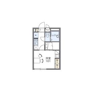 1K Apartment in Takinoi - Funabashi-shi Floorplan