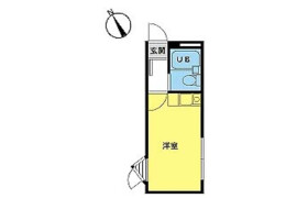 1R Apartment in Hatanodai - Shinagawa-ku