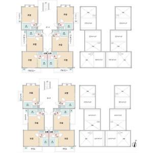Whole Building Apartment in Gokominami - Matsudo-shi Floorplan