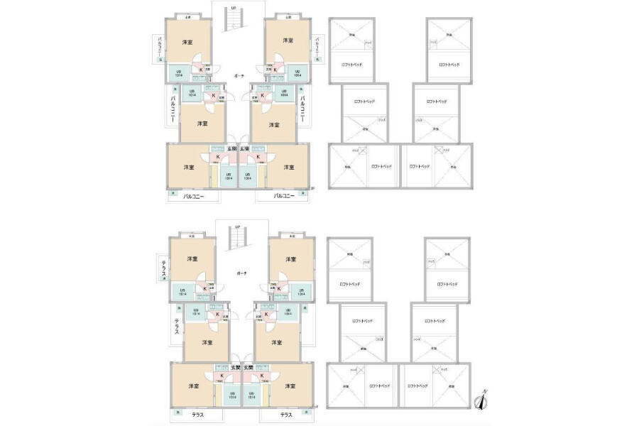 Whole Building Apartment to Buy in Matsudo-shi Floorplan