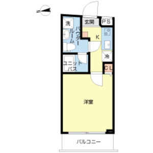 1K Mansion in Nijikkimachi - Shinjuku-ku Floorplan
