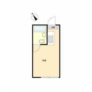 1R {building type} in Koenjikita - Suginami-ku Floorplan