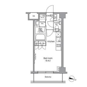 1K Mansion in Azabumamianacho - Minato-ku Floorplan