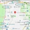 3LDK Apartment to Rent in Shibuya-ku Map