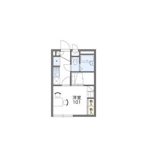 1K Apartment in Ichikawa - Ichikawa-shi Floorplan