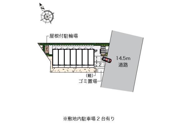1K Apartment to Rent in Fujisawa-shi Floorplan