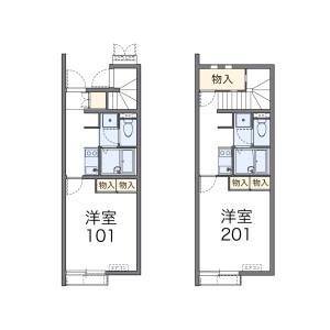 1K Apartment in Tagara - Nerima-ku Floorplan