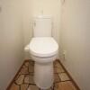 1R Apartment to Rent in Ota-ku Toilet