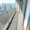 1LDK Apartment to Rent in Koto-ku Balcony / Veranda