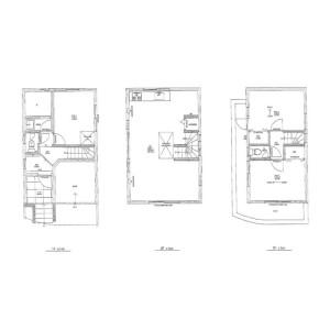 3LDK House in Gohongi - Meguro-ku Floorplan