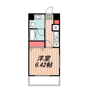 1K Mansion in Shinkawa - Chuo-ku Floorplan