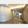2K Apartment to Rent in Shinjuku-ku Building Entrance