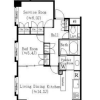 1SLDK Apartment to Rent in Shibuya-ku Floorplan