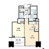 1SLDK Apartment to Buy in Koto-ku Floorplan