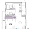 1LDK Apartment to Buy in Nerima-ku Floorplan