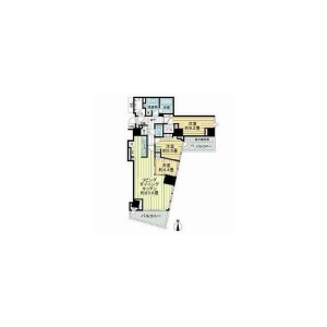 3LDK Mansion in Nishiazabu - Minato-ku Floorplan