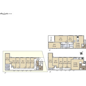 3SK {building type} in Tsukuda - Chuo-ku Floorplan